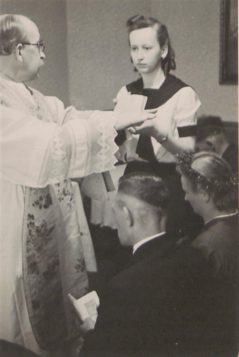 """Fot. 4. """"Nielegalny"""" ślub. Źródło: I. Z. Dok. IV – 133."""