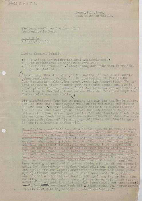 Dział I Dokumenty Niemieckie Archiwum Ii Wojny światowej