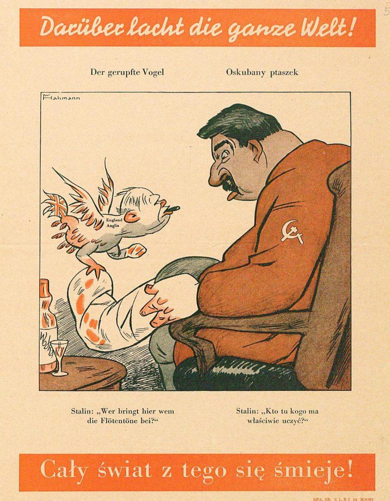"""Fot. 4. Plakat pt. """"Oskubany ptaszek"""". Źródło: I.Z. Dok. I – 255."""